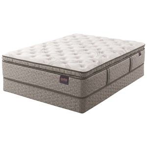 Serta AM Wynnfield Super Pillow Top Cal King Super Pillow Top Mattress Set