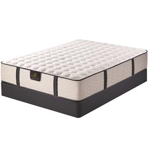 Serta Bellagio at Home Guardini II Queen Firm Mattress Set