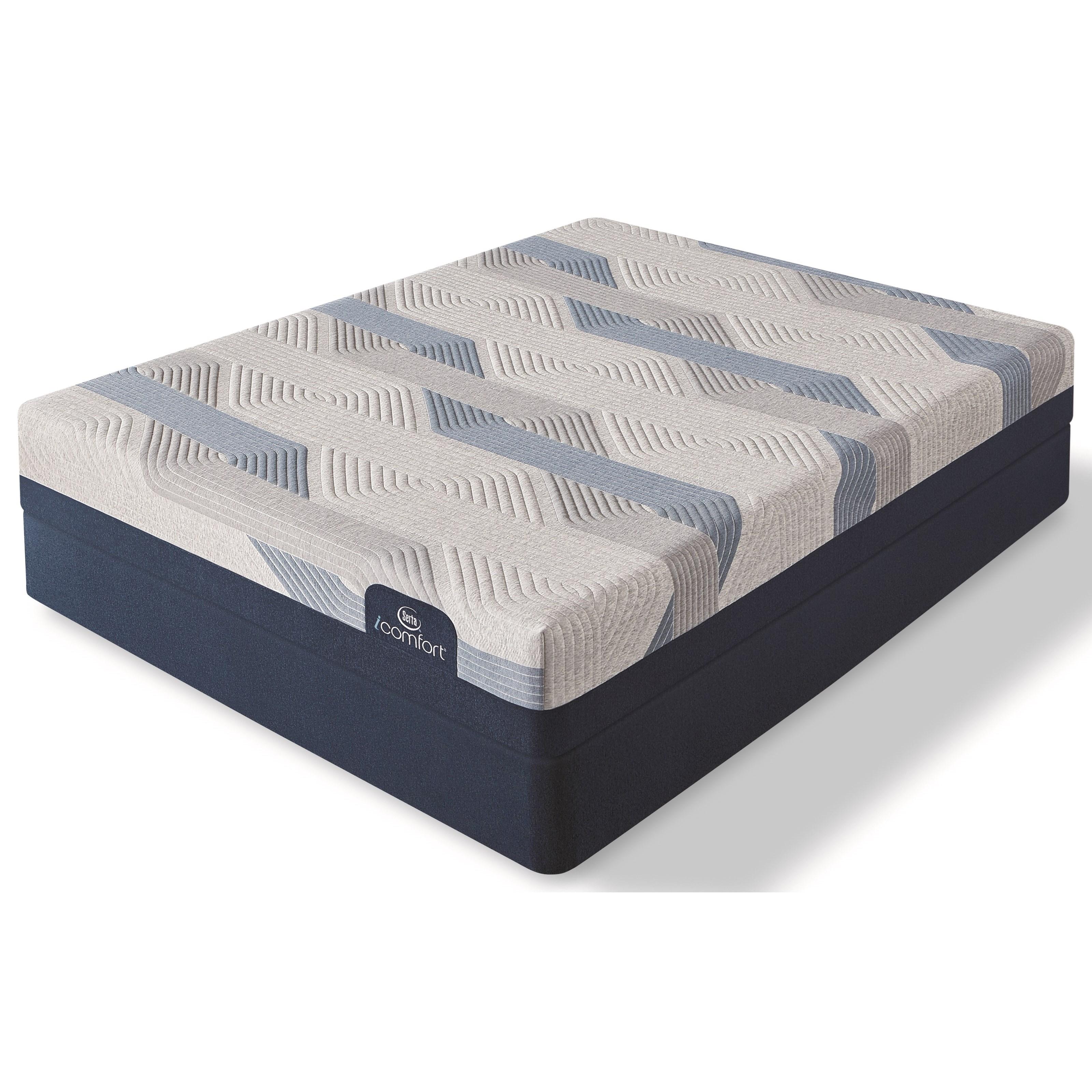 Cal King Gel Memory Foam Mattress Set
