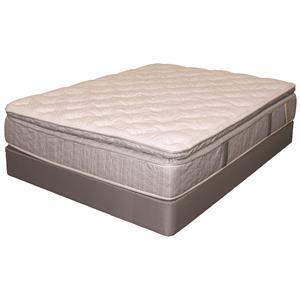 Serta Dr Greene Holland Meadows Twin Extra Long Super Pillow Top Mattress and Box Spring