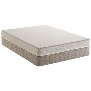 Serta Dream Haven Sand Hills Cal King Firm Mattress Set