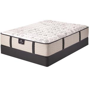 Serta Fenwick Queen Firm Mattress Set