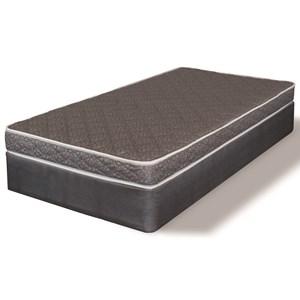 Twin Firm Foam Mattress Set