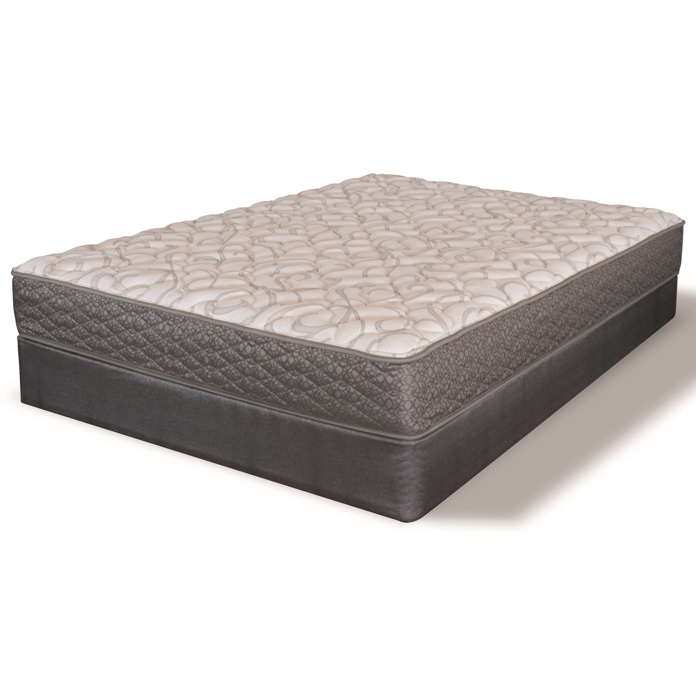 Serta iAmerica Historical Firm Twin Firm Innerspring Mattress Set - Item Number: 500959551-1010+500964699-5010