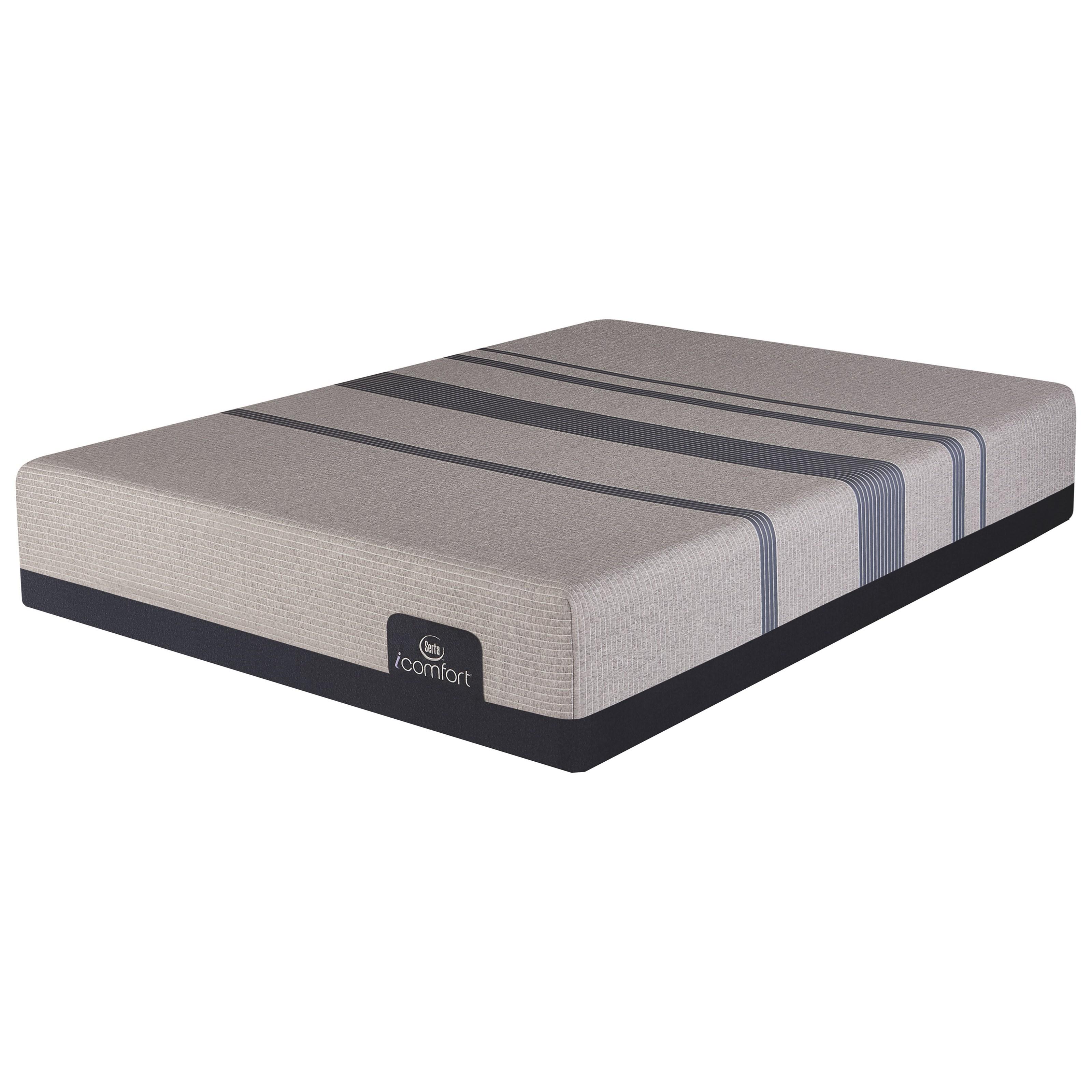 Serta iComfort Blue Max 3000 Elite Plush Queen Elite Plush Gel Memory Foam Adj Set - Item Number: 500802458-1050+500828319-7550