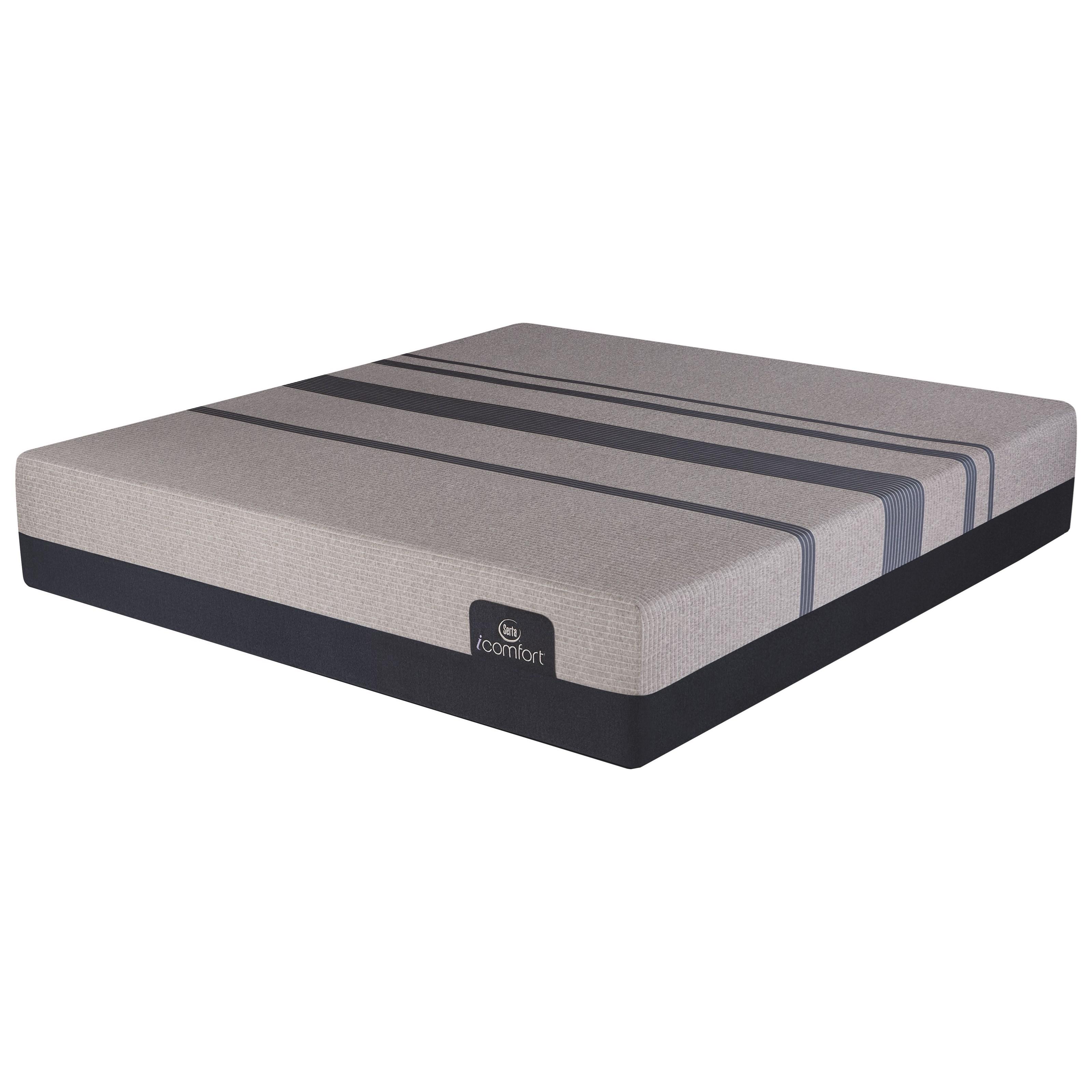 Serta iComfort Blue Max 5000 Elite Luxury Firm Queen Elite Lux Firm Gel Memory Foam Matt - Item Number: 500801048-1050
