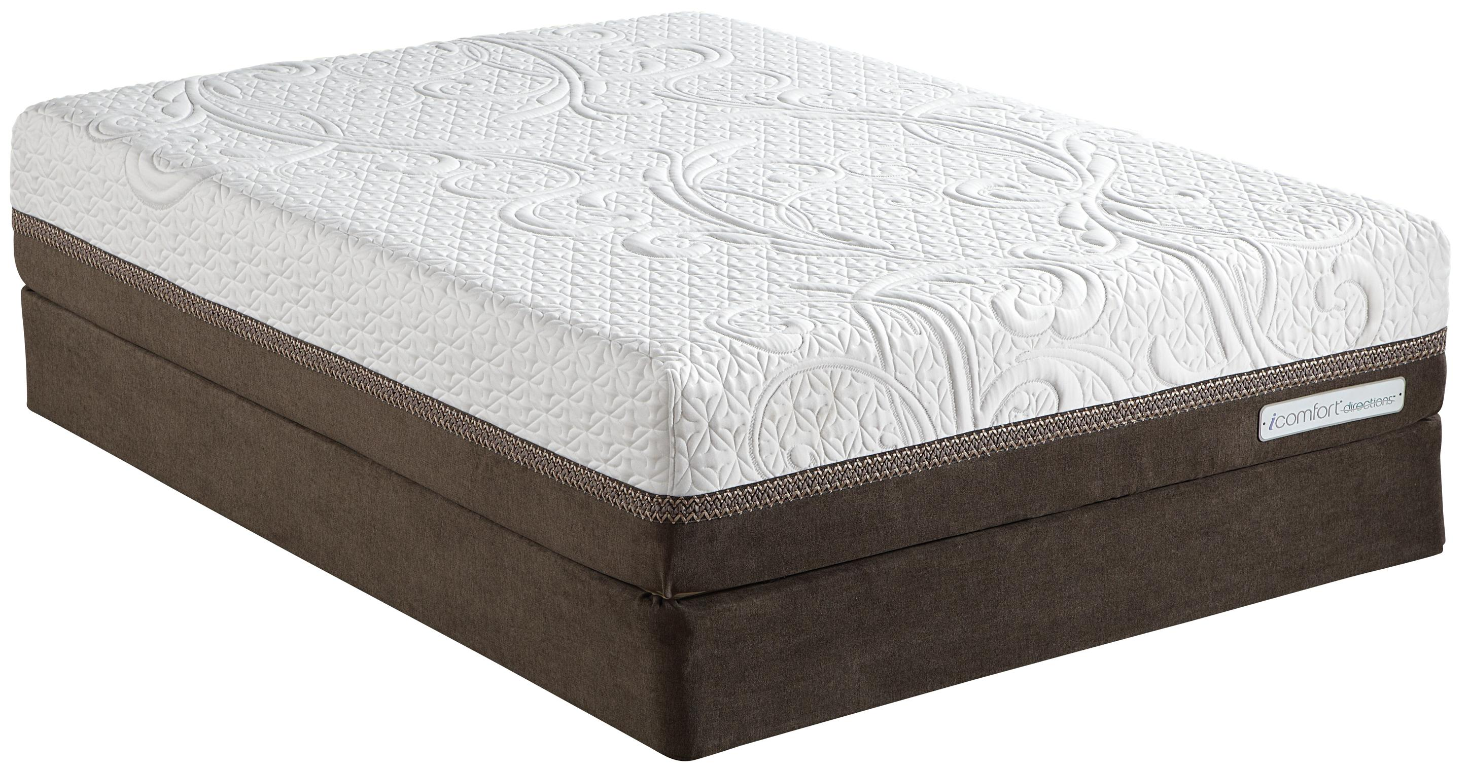Serta iComfort Directions Acumen Twin XL Plush Memory Foam Mattress - Item Number: 823038TXL