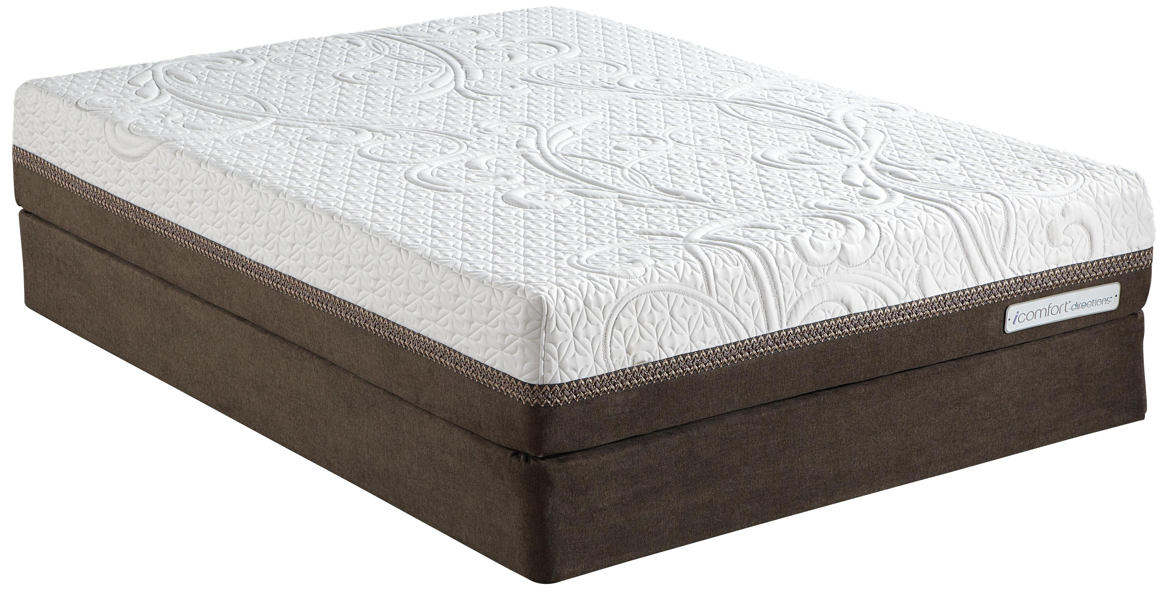 Serta iComfort Directions Epic Cal King Memory Foam Mattress Set  - Item Number: 823018CK+2x824399CK