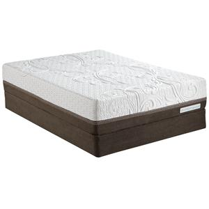 Serta iComfort Directions Inception Queen Memory Foam Mattress and Adj Base