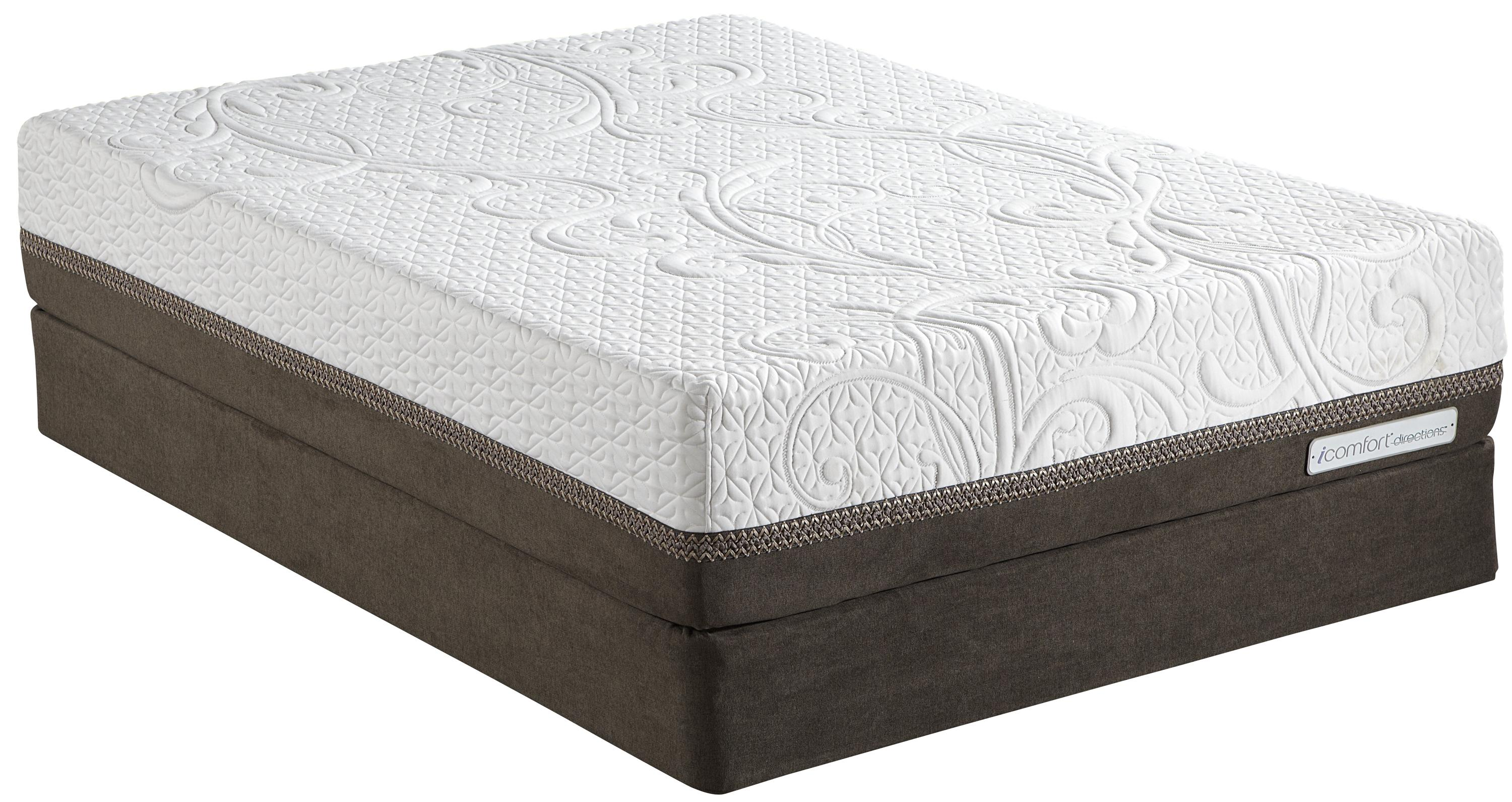 Serta iComfort Directions Reinvention Queen Memory Foam Mattress Set  - Item Number: 823028Q+824399Q
