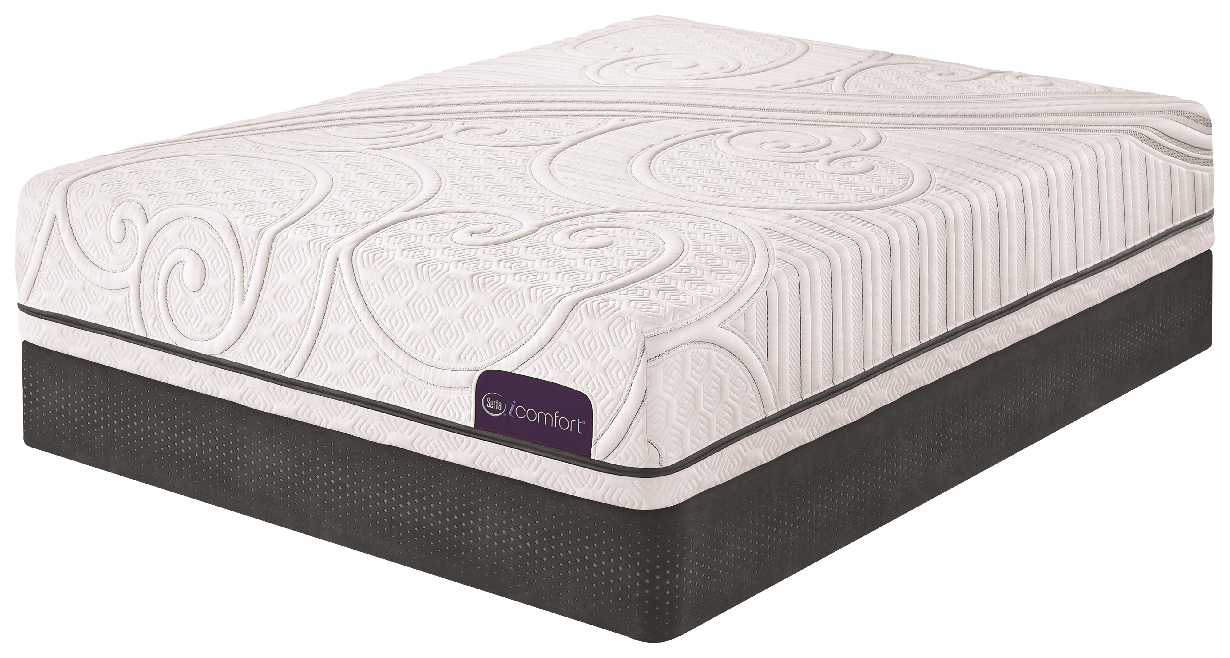 Serta iComfort Guidance Full Gel Memory Foam Mattress Set - Item Number: Guidance-F+StabL-Base-F