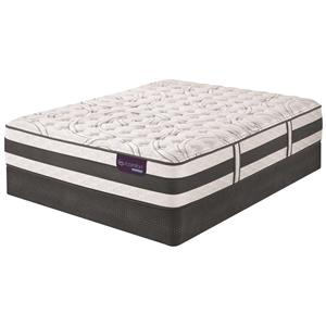 Serta iComfort Hybrid Applause II Queen Firm Hybrid Quilted Matt Set, Adj