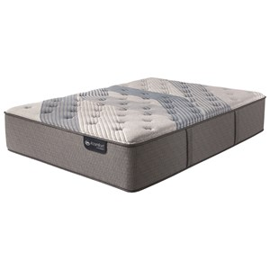 Serta iComfort Hybrid Blue Fusion 1000 Lux Firm Queen Luxury Firm Hybrid Mattress