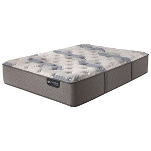 Serta iComfort Hybrid Blue Fusion 200 Plush Cal King Plush Hybrid Mattress