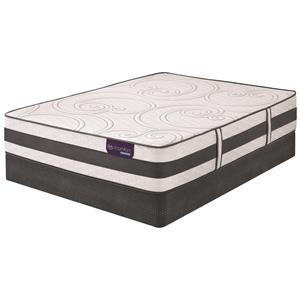 Serta iComfort Hybrid Discoverer Full Plush Hybrid Mattress Set, Adj