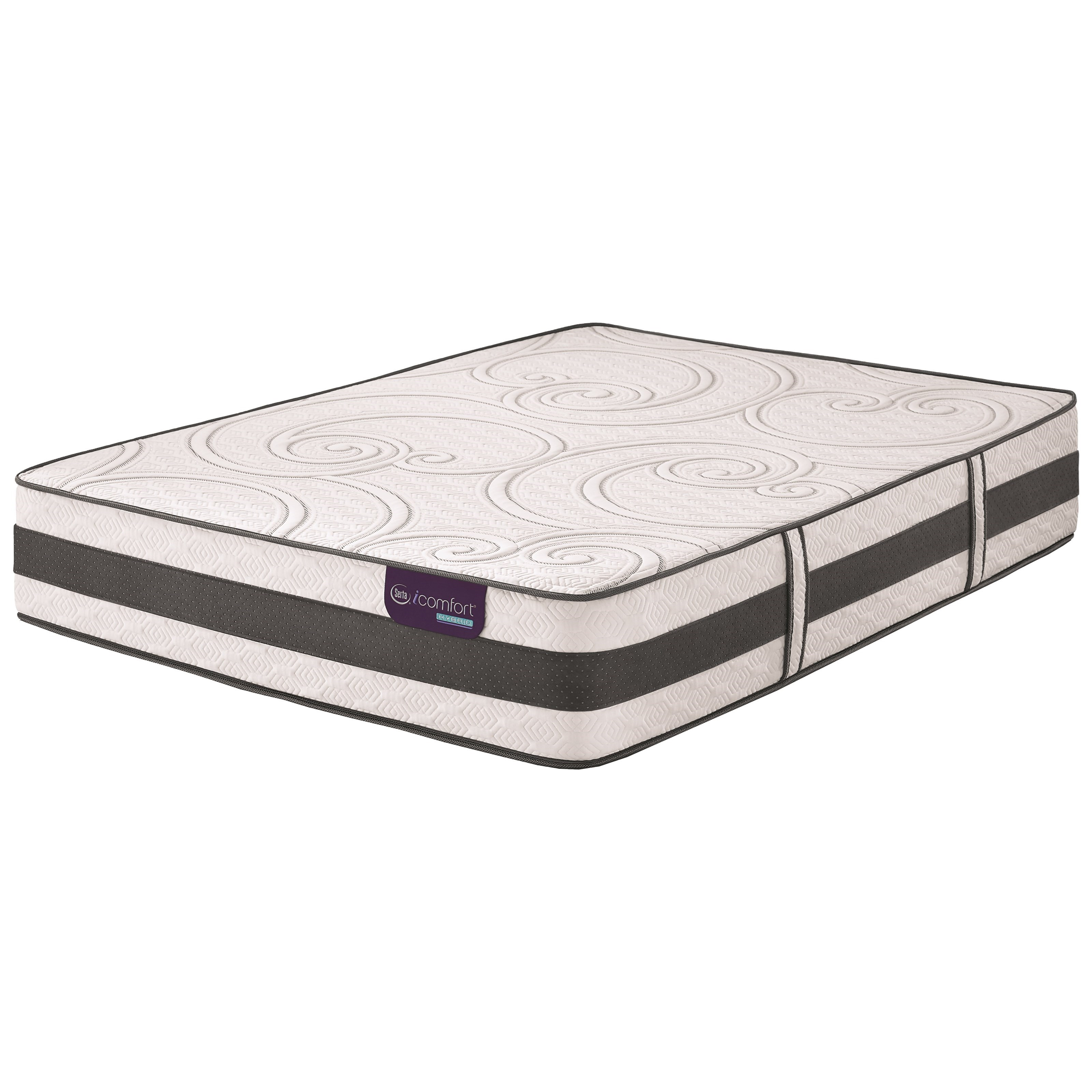Serta iComfort Hybrid Discoverer Split King Plush Hybrid Mattress - Item Number: DiscovererPlsh-TXLK