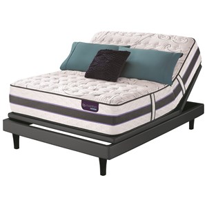 Serta iComfort Hybrid SmartSupport HB300Q Cal King SmartSupport? Cushion Firm Set, Adj