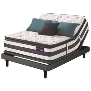 Full SPT Hybrid Quilted Mattress Set, Adj