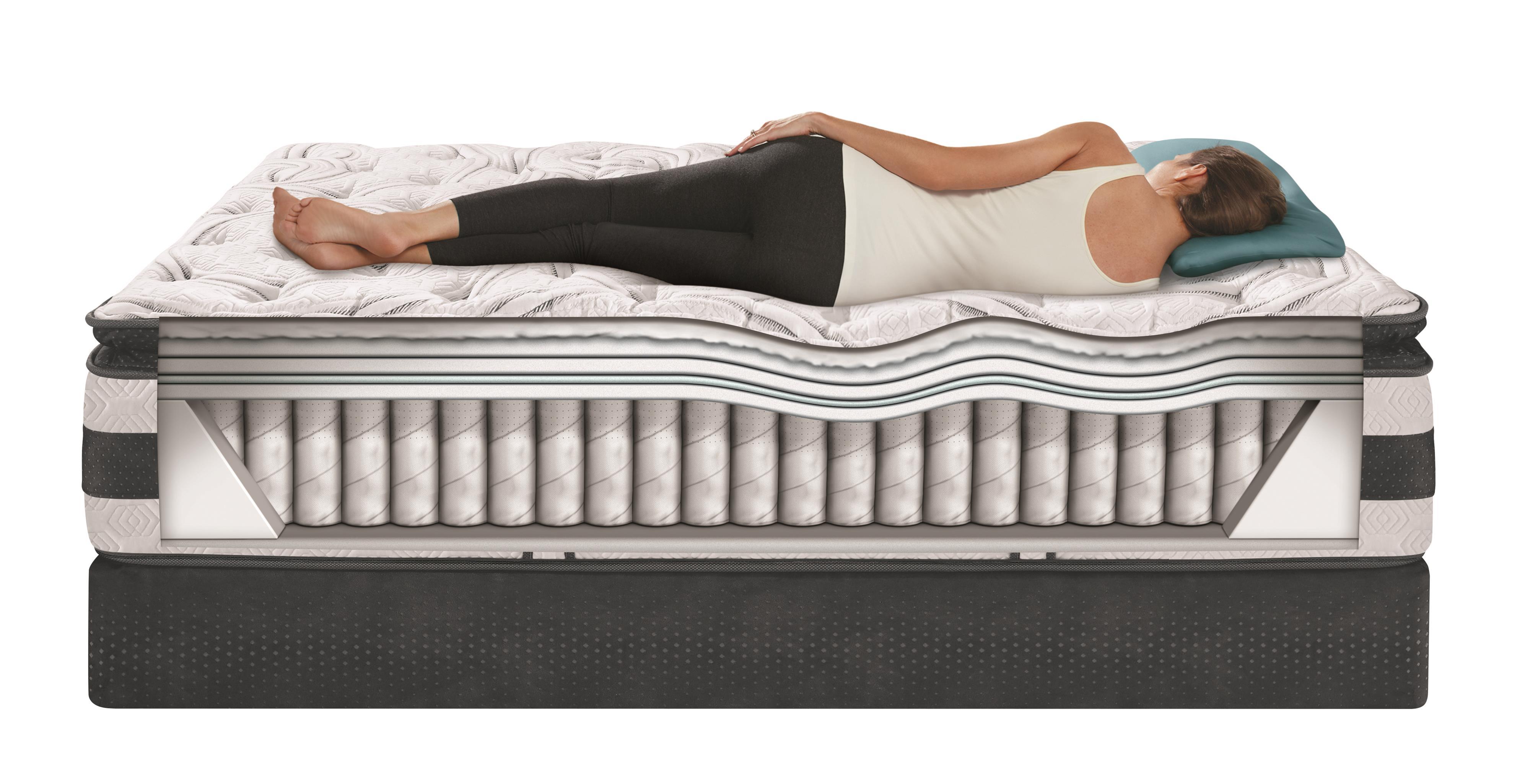 Serta Icomfort Hybrid Observer Queen Super Pillow Top
