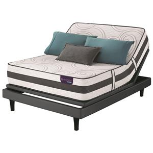 Serta iComfort Hybrid Philosopher Queen Plush Hybrid Mattress Set, Adj