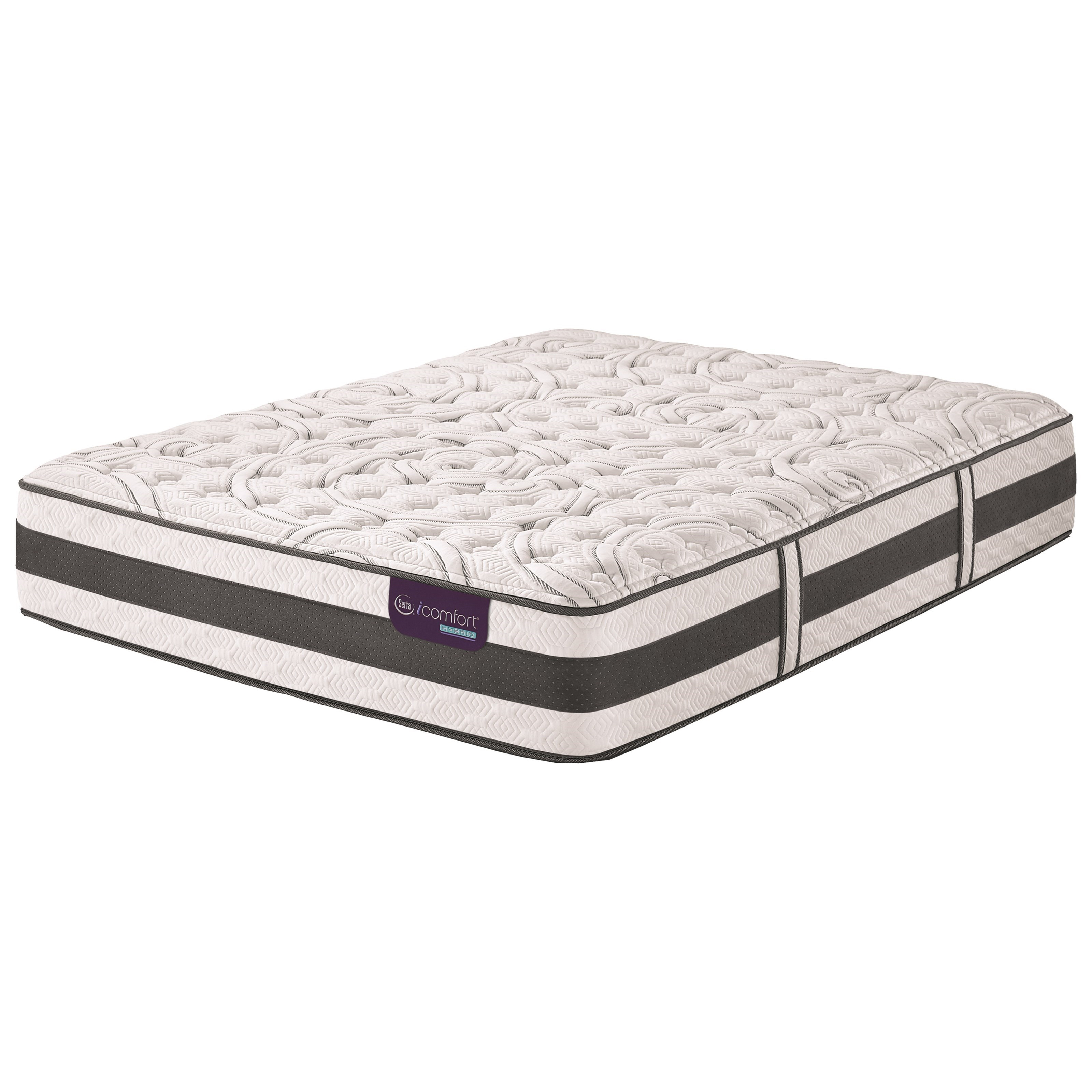 Serta iComfort Hybrid Recognition Cal King Extra Firm Hybrid Quilted Mattress - Item Number: RecgntnExtFirm-CK