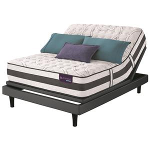 Serta iComfort Hybrid Recognition Queen XFirm Hybrid Quilted Matt Set, Adj