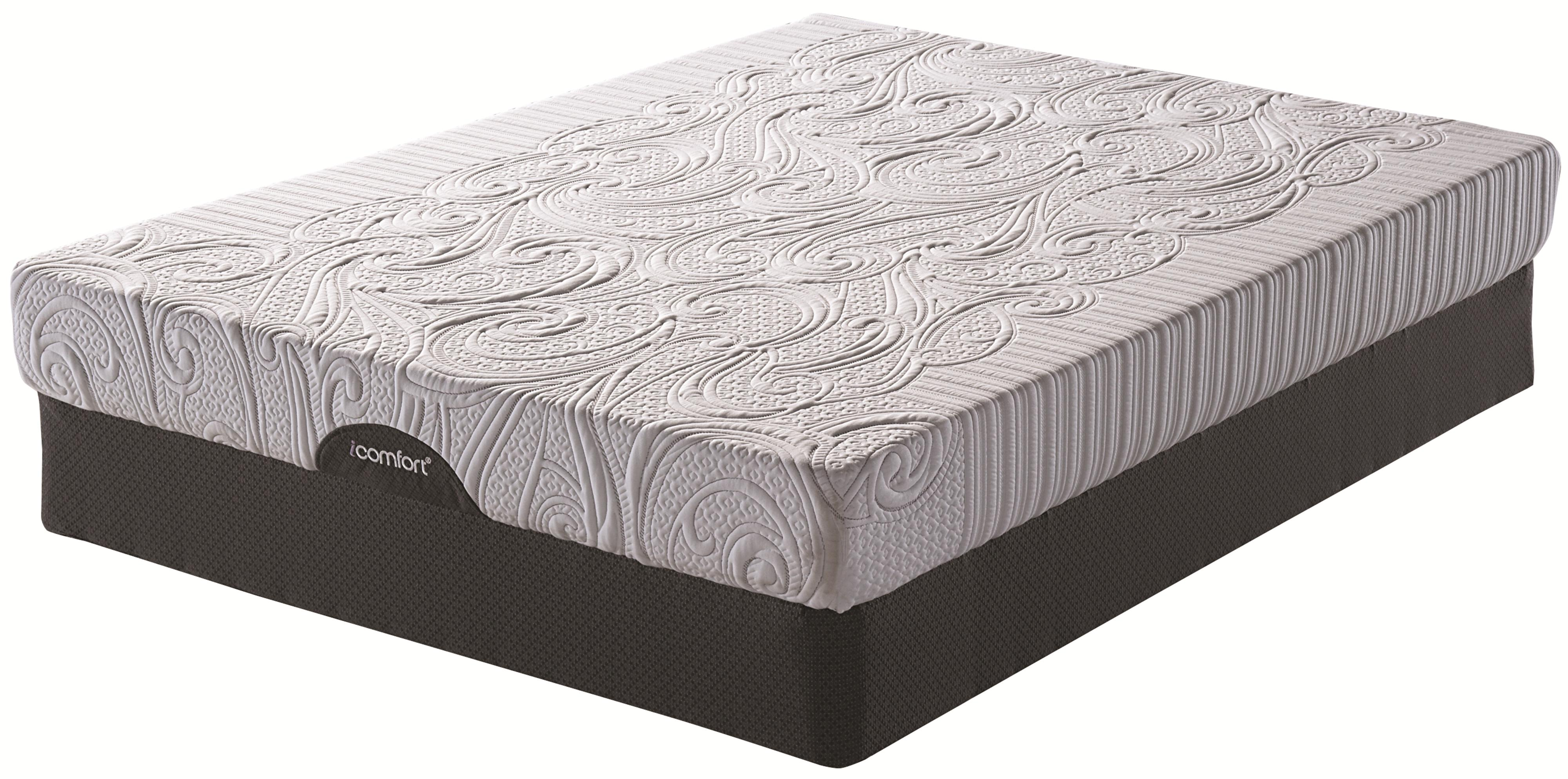 Serta iComfort Insight EverFeel King Mattress and ADJ Base Set - Item Number: 824148K+2x822019TXL