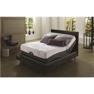Serta iComfort® Savant EverFeel™ Plush King Mattress with Adjustable Motion Base
