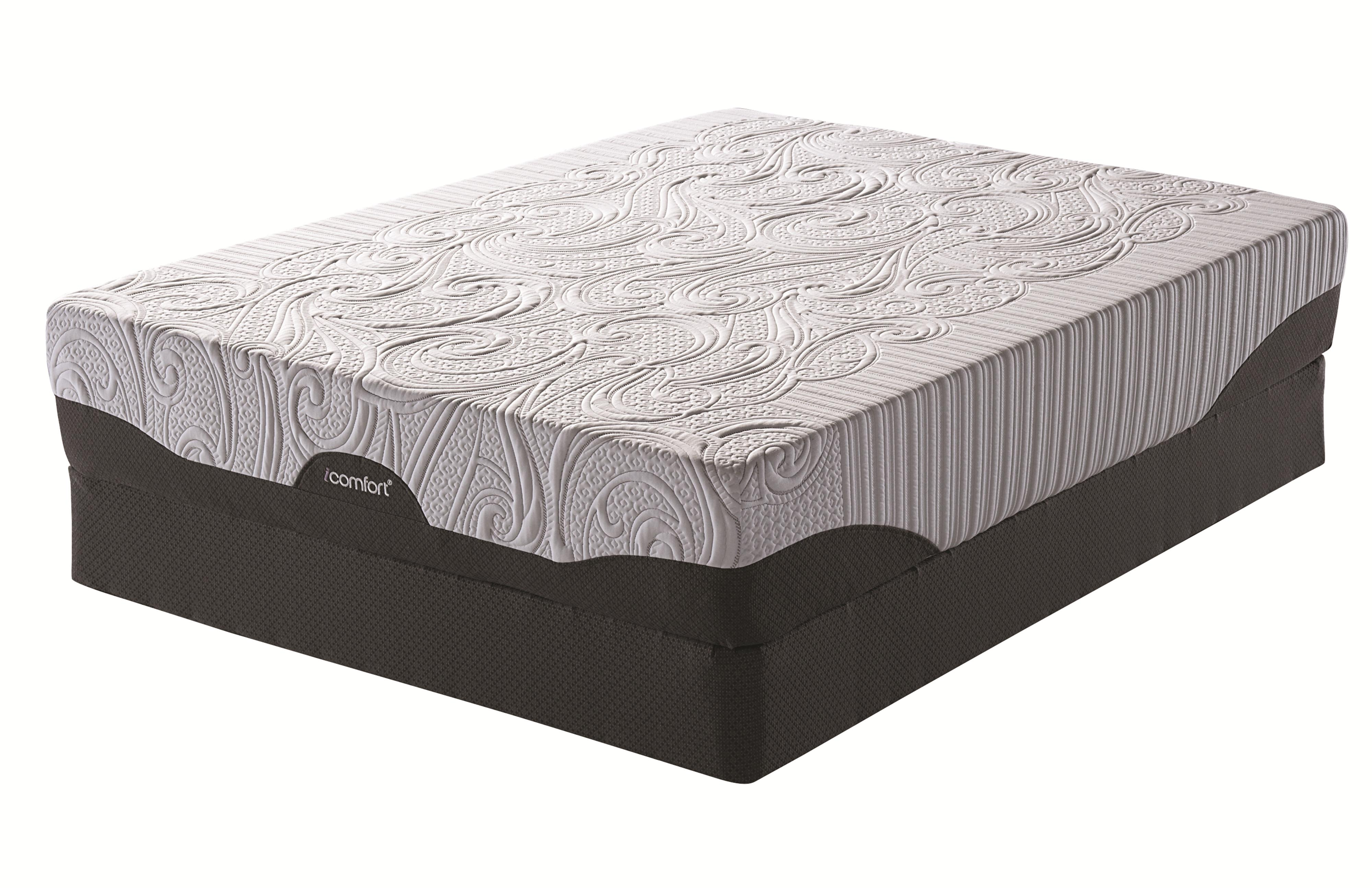 Serta iComfort® Savant EverFeel™ Plush Queen Mattress Set - Item Number: 823628Q+825099Q
