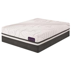 Serta iComfort Savant III Queen Plush Gel Memory Foam Matt Set, LP