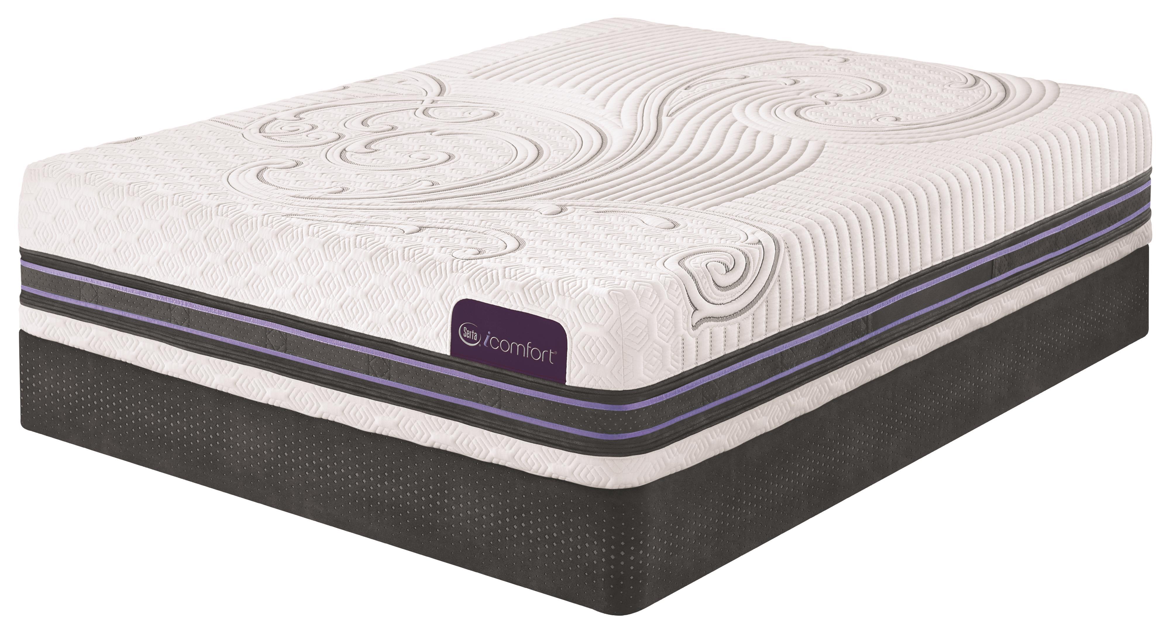 Serta iComfort SmartSupport F300 Queen SmartSupport™ Memory Foam Mattress Set - Item Number: F300-Q+PivotiC-Q