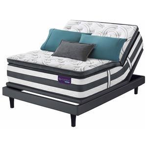Serta iComfort Hybrid 2016 Queen iComfort Hybrid Advisor Super Pillow T