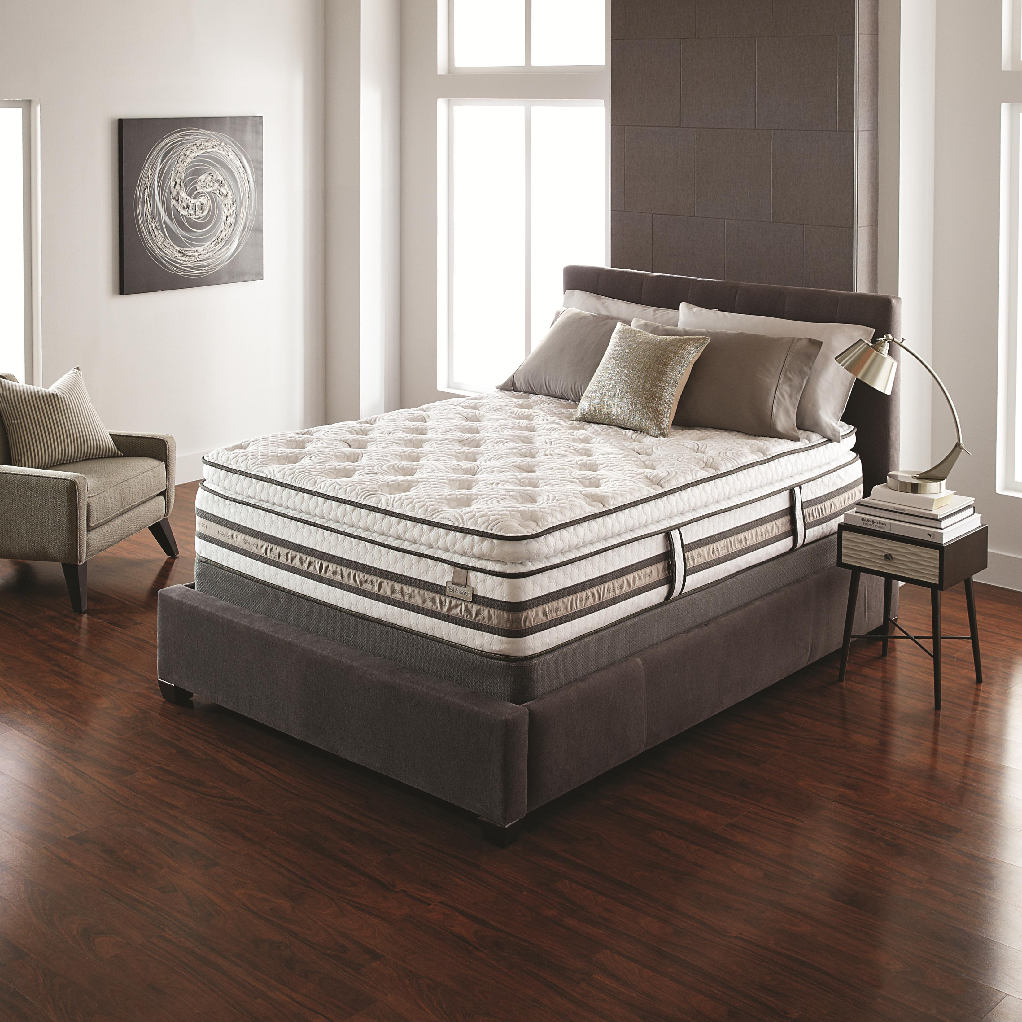Serta iSeries Merit Queen Super Pillow Top Mattress - Item Number: 400073Q