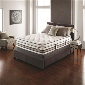 Serta iSeries Merit Full Super Pillow Top Mattress Set