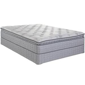 Serta Jouvence Twin Super Pillow Top Plush Mattress