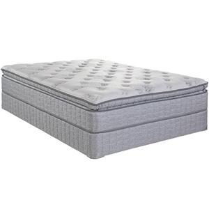 Serta Jouvence Queen Super Pillow Top Plush Mattress