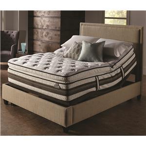 Serta iSeries Profiles Honoree  King Super Pillow Top and ADJ Base Set