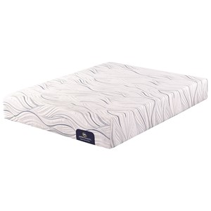 Serta Blackpool Twin Plush Gel Memory Foam Mattress