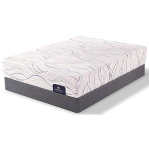 Serta Perfect Sleeper Collier Queen Plush Memory Foam Mattress Set, Adj