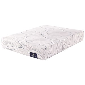Serta PS Carriage Hill Plush Queen Plush Gel Memory Foam Adj Set