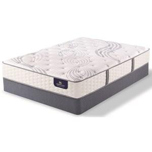 Serta Garleton Plush Full Plush Premium Coil Mattress Set, Adj