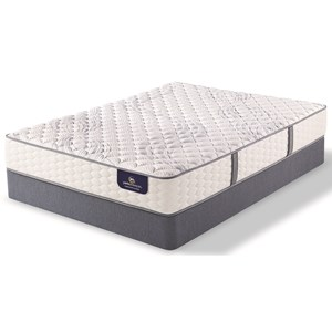 Serta PS Sandmist Firm Queen Firm Pocketed Coil Mattress Set