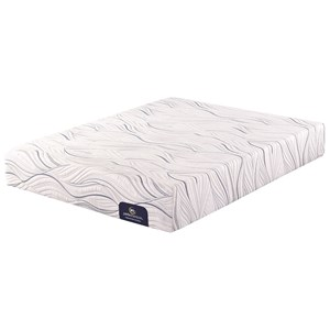 Serta Swanson Plush Twin Plush Gel Memory Foam Mattress