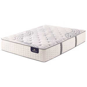 Serta Annadel Plush Queen Plush Pocketed Coil Adj Set