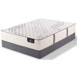 Serta PS Trelleburg Extra Firm Cal King Extra Firm Mattress Set, LP