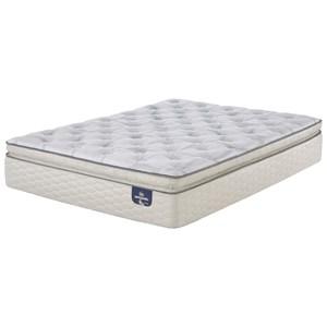 Serta Alverson Super Pillow Top Firm Queen Firm Super Pillow Top Mattress Set