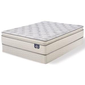 Serta Alverson Super Pillow Top Plush Full Plush Super Pillow Top Mattress Set