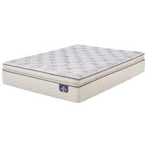 Queen Plush Super Pillow Top Mattress Set