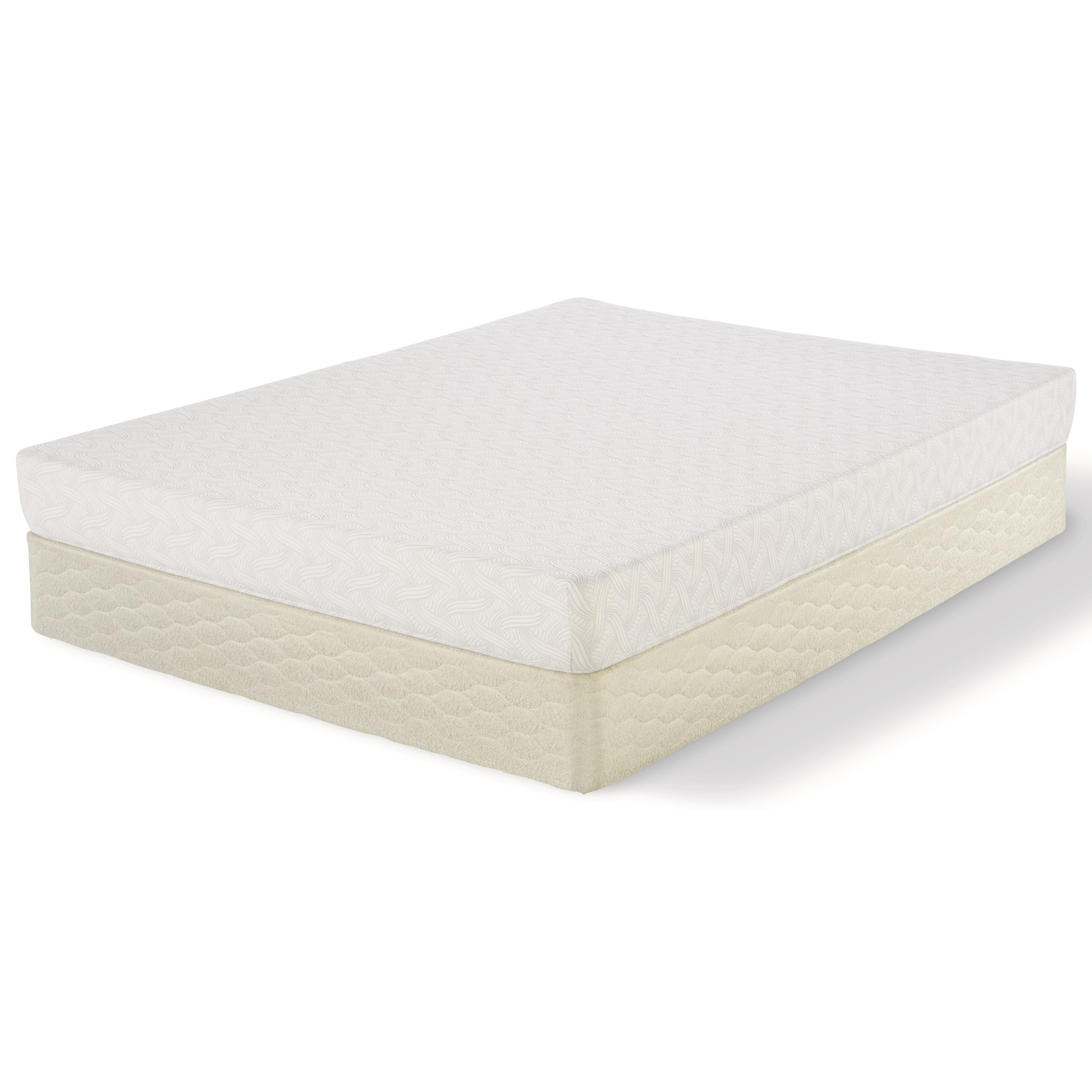"Serta Feilding Queen 7"" Memory Foam Mattress Set - Item Number: 500573287-1050+500117399-5050"