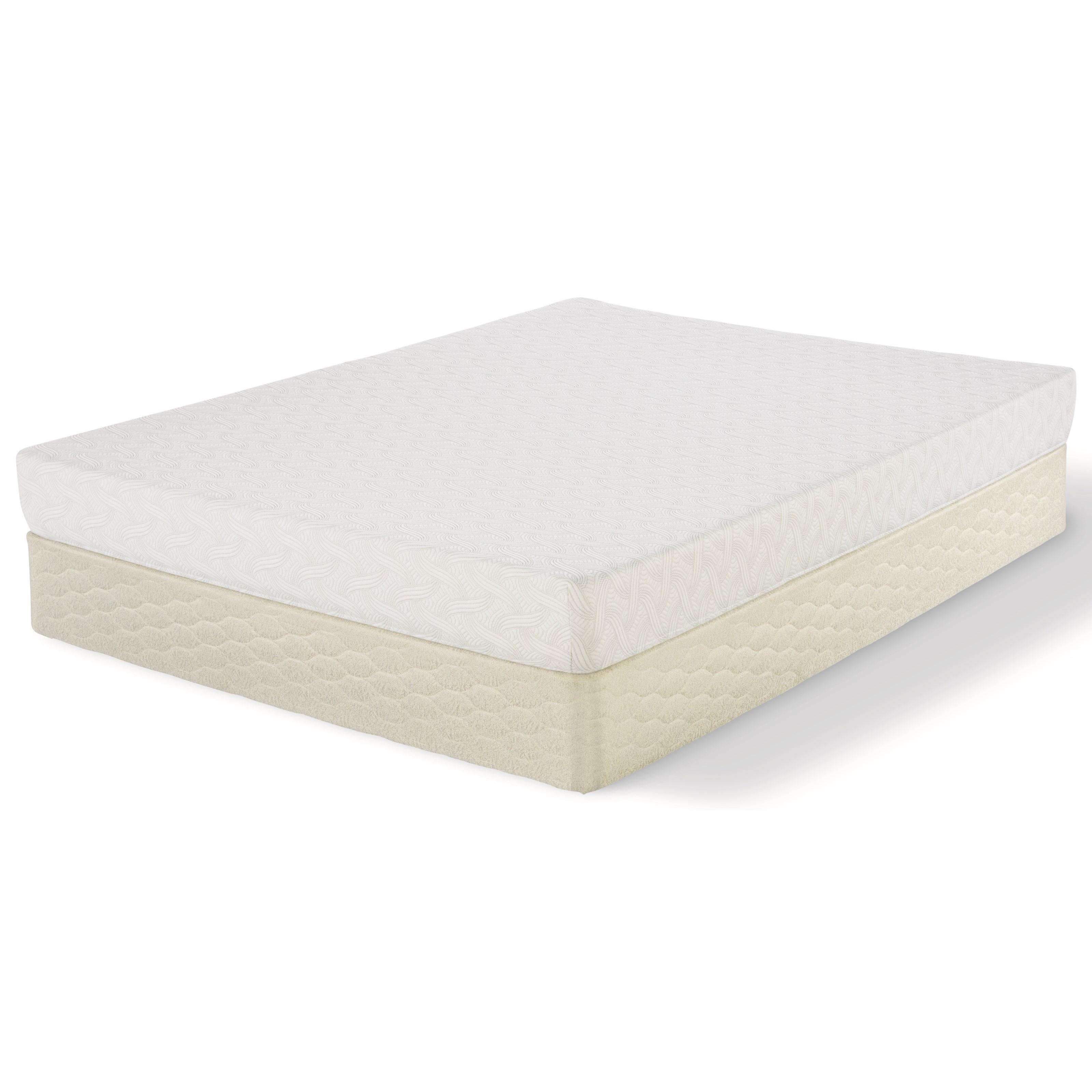 "Serta Feilding Full 7"" Memory Foam Mattress Set - Item Number: 500573287-1030+500117399-6030"